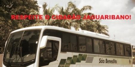 São Benedito, respeite o cidadão jaguaribano!