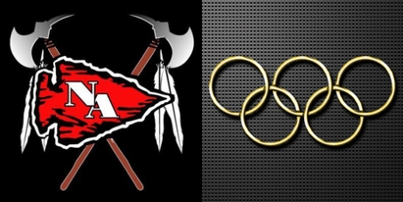 Native American & Olympic Rings Logos