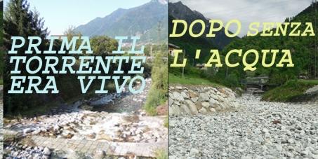 L'acqua è un bene comune : vi chiedo di firmare questa petizione : STOP CAPTAZIONI per CENTRALINE IDROELETTRICHE