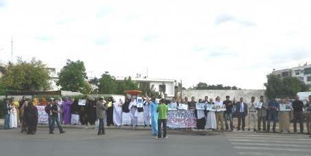 Libérez les prisonniers politiques Sahraouis