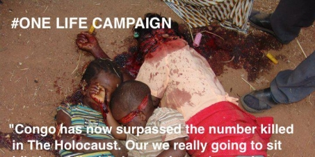 Stop the killing in the DR Congo!