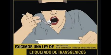 QUEREMOS SABER QUE COMEMOS! Exigimos una Ley de etiquetado de Transgénicos.