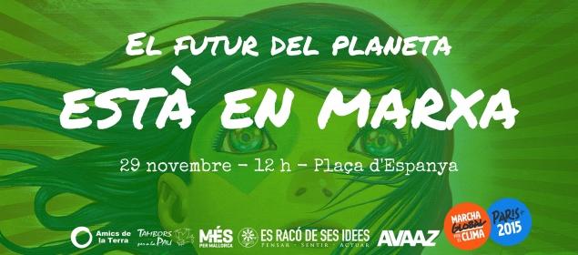 Marxa mundial pel clima (29-11-15)