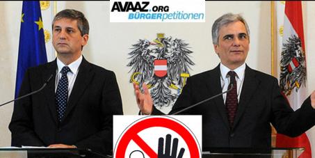 """Österreichische Politdarsteller_Innen gem. Paragraph 263 StGB Abs.1 """"Wählertäuschung"""" klagen!"""