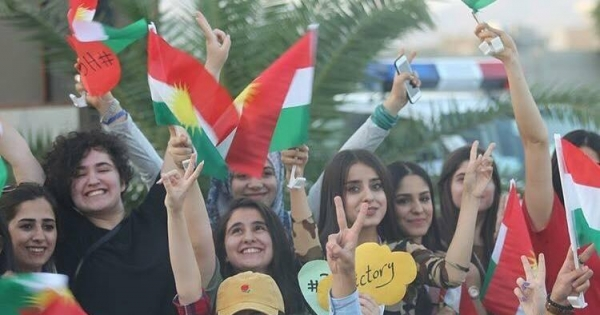 Call on world leaders to respect the Iraqi Kurds' right to self-determination & secession from Iraq.