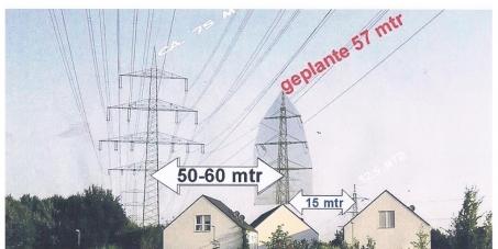 An die Stromtrassenbauer Entso-E (Verband Europäischer Netzbetreiber)