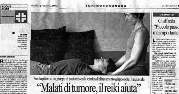 Ministro della sanità : Introdurre il Reiki negli Ospedali e affiancarlo alle cure ufficiali in Italia