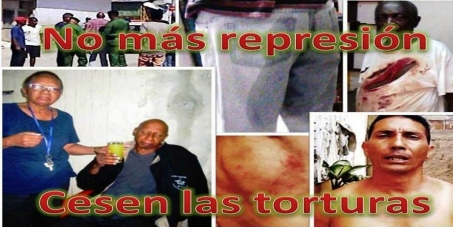Al Presidente de la República de Cuba, General Raúl Castro Ruz: Que pare la represión y las torturas a los opositores en Santa Clara, Cuba