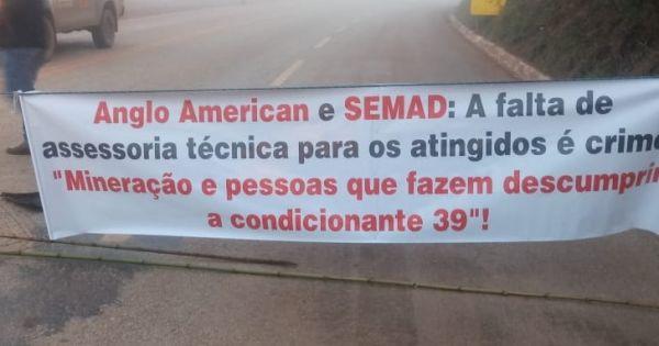 Justiça para os atingidos pelo Projeto Minas-Rio da Anglo American