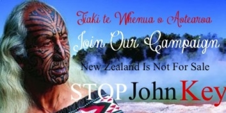Maori Life : Break Free From John Key.