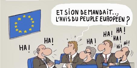 Au Parlement Européen.: Traité transatlantique : N'offrons pas le monde aux lobbys!