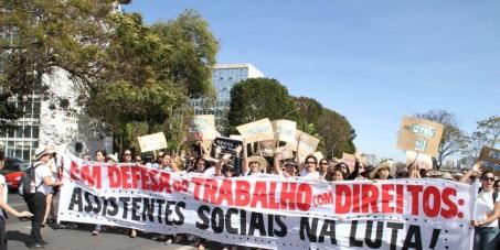 Pela aprovação do projeto de lei n.º 5278/2009 - PL piso salarial de assistentes sociais