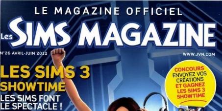 Pour que le Sims Magazine reprenne du service !