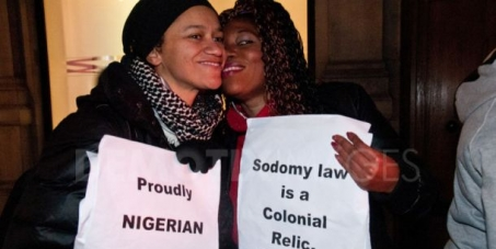 Nigerian President Goodluck Jonathan: Stop the criminalization of same sex marriage and homosexual support groups