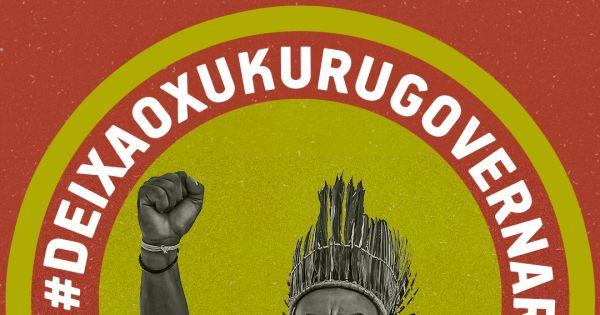 AO TSE: OBRIGAÇÃO EM PROTEGER A DEMOCRACIA DO POVO E CACIQUE MARCOS XUKURU