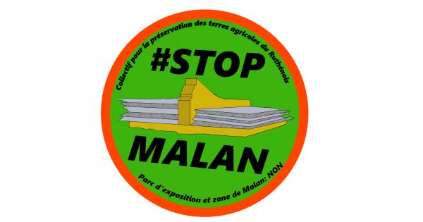 #STOPMALAN Non au projet de parc des expositions et zone d'activités de Malan