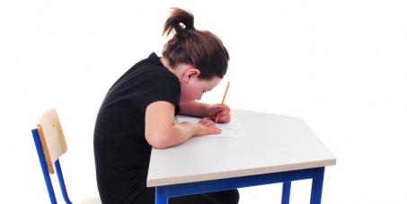 Make backward sloping School Chairs illegal