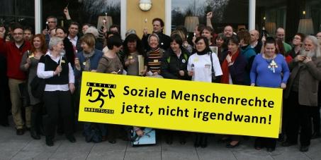 An dieneue Regierung in Österreich: Soziale Menschenrechte jetzt umsetzen, nicht irgendwann!