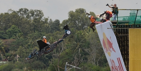 Initiate action against BBMP and RedBull Flugtag organizers