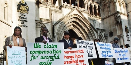 Give the Chagos islanders the right to return home!