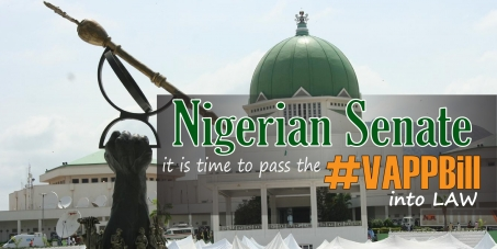 The Nigerian Senate: Pass the VAPP Bill into Law