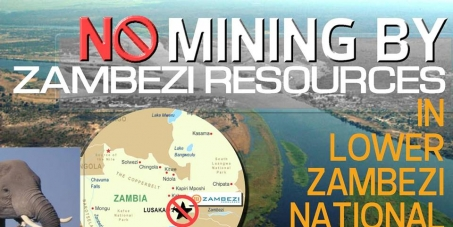 Stop ALL mining activity in the Lower Zambezi National Park, Zambia.