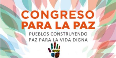 Llamado por la paz en Colombia