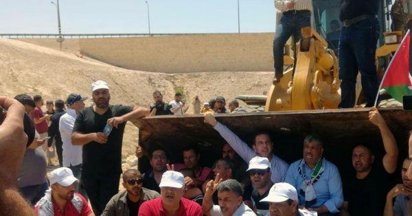Israelische Regierung : Stopp der Zerstörung von Khan al Ahmar