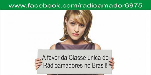 Petição com pedido imediato nas modificações das leis de radioamadorismo