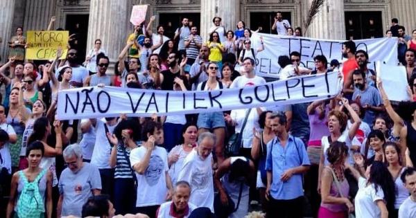 Manifesto Teatro pela Democracia: Não ao Impeachment!
