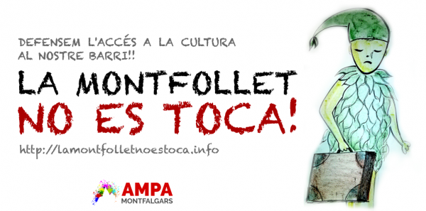 Ajuntament de Girona: La Montfollet no es toca: garantim el funcionament de la biblioteca.