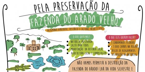 Vereadores de Porto Alegre: Preservem a Fazenda do Arado Velho em Belém Novo #PreservaArado