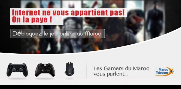 Maroc Telecom: Débloquer le jeu Online au Maroc