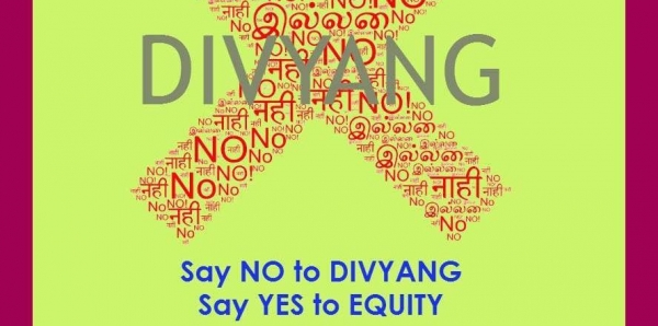 Prime Minister of  India : Withdraw 'divyang'  for 'viklang' for PWD