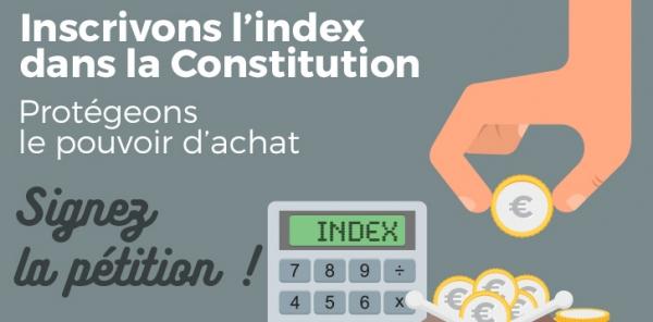 Inscrire l'indexation automatique dans la Constitution!