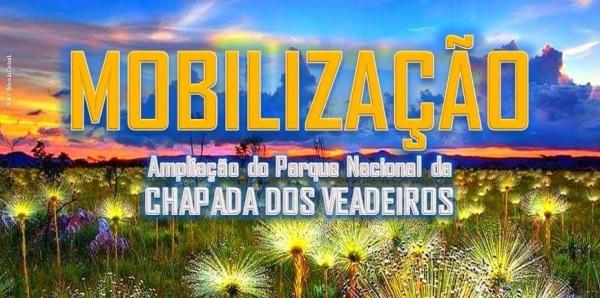 Ministro-Chefe da Casa Civil, Eliseu Padilha: SOCIEDADE PEDE AMPLIAÇÃO DO PARQUE NACIONAL DA CHAPADA DOS VEADEIROS