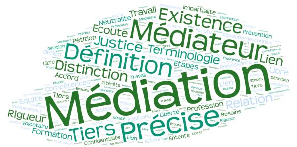 Oui, à une définition de la médiation
