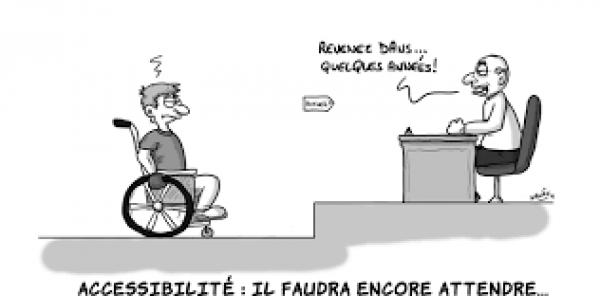 Monsieur Terry, Michel, Tunui BUILLARD,  Maire de Papeete: Rendre la ville de Papeete accessible aux handicapés