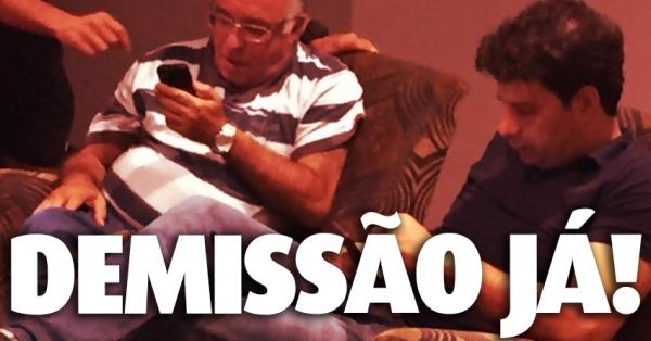 Presidência do São Paulo Futebol Clube: Demissão imediata de Ataíde e Gustavo Viera do SPFC