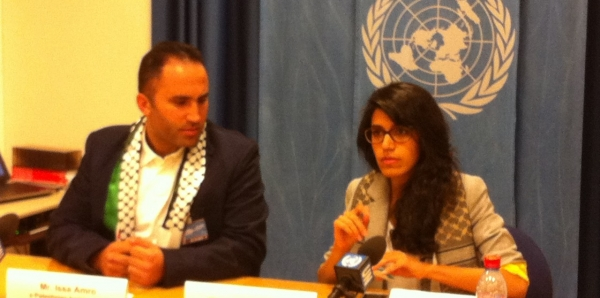 UN High Commissioner for Human Rights, Mr. Ra'ed Zeid Al Hussein: Protect Palestinian HRD Issa Amro (with F and DE)