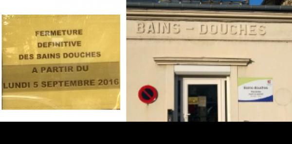 Laurent Brosse Maire de Conflans Sainte Honorine: Nous exigeons la réouverture des Bains-Douches à Conflans.