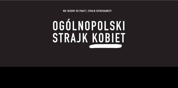 Prokuratura Okręgowa w Gdańsku, Prokuratura Krajowa, Prokurator Generalny: Uprzejmie donoszę, że organizowałam/-em Czarny Protest