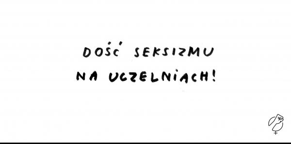 Seksizm na Uniwersytecie Śląskim ‐ żądamy zwolnienia wykładowcy
