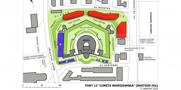 Prezydent Miasta Krakowa prof. Jacek Majchrowski: Niedopuszczenie do zabudowy terenu fortu Luneta Warszawska