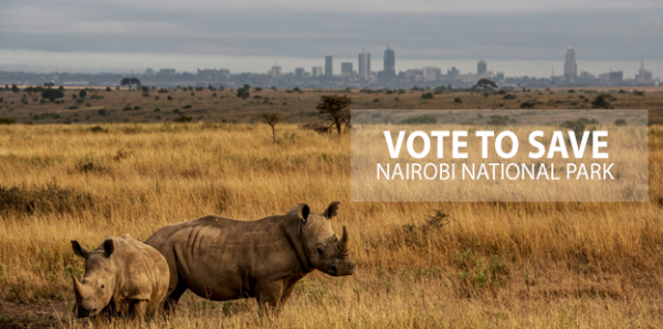 The President of Kenya: We call on you to enlist Nairobi National Park as World Heritage Site