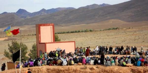 الجالية المغربية بالخارج توقع عريضة تضامن مع ساكنة امضر : la communauté marocchaine à l'etranger soutient la population d'Imider