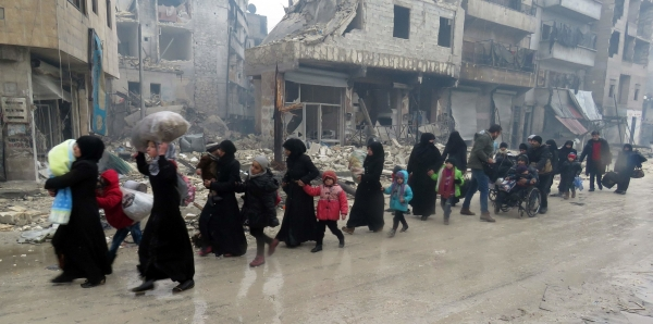 Russian Embassies: Stop the Bombing of Aleppo