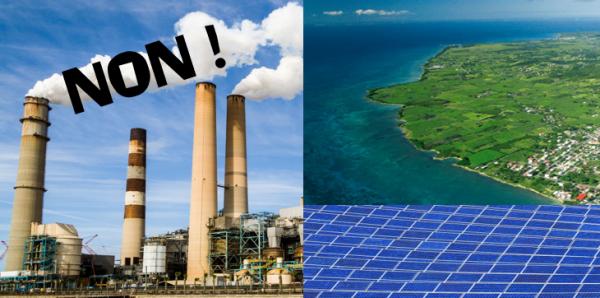L'Etat français: NON à la dépendance de Marie-Galante et des DOM-TOM aux énergies polluantes
