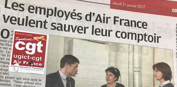 Sauver le comptoir vente air france calvi - Comptoir air france toulouse ...