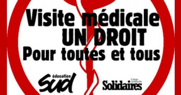 Madame la rectrice de l'académie de Reims: Pour un médecin de prévention dans l'académie de Reims